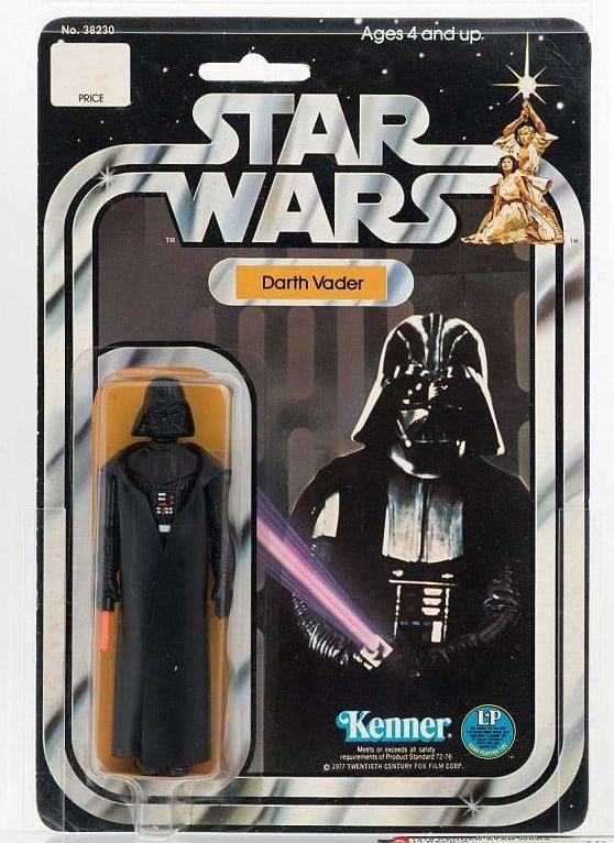 Darth Vader Kenner Action Figure