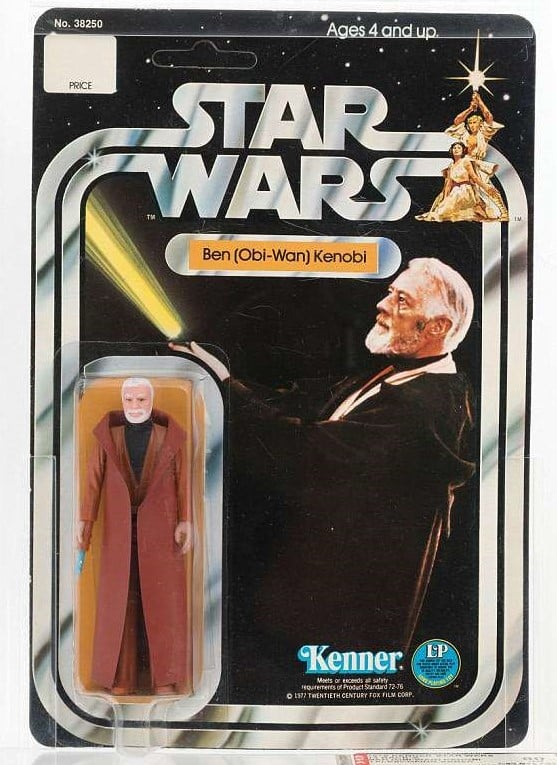Obi-Wan Kenner Action Figure