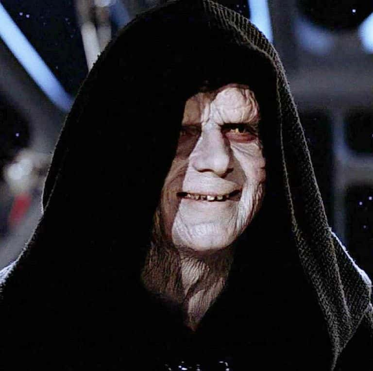 Image of the Emperor Palpatine