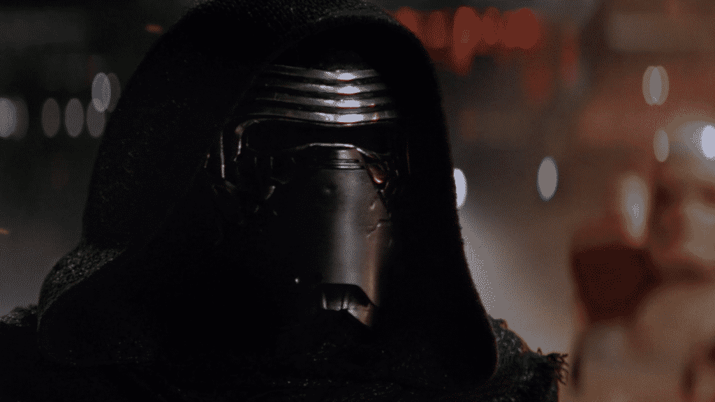 Kylo Ren's First Appearance