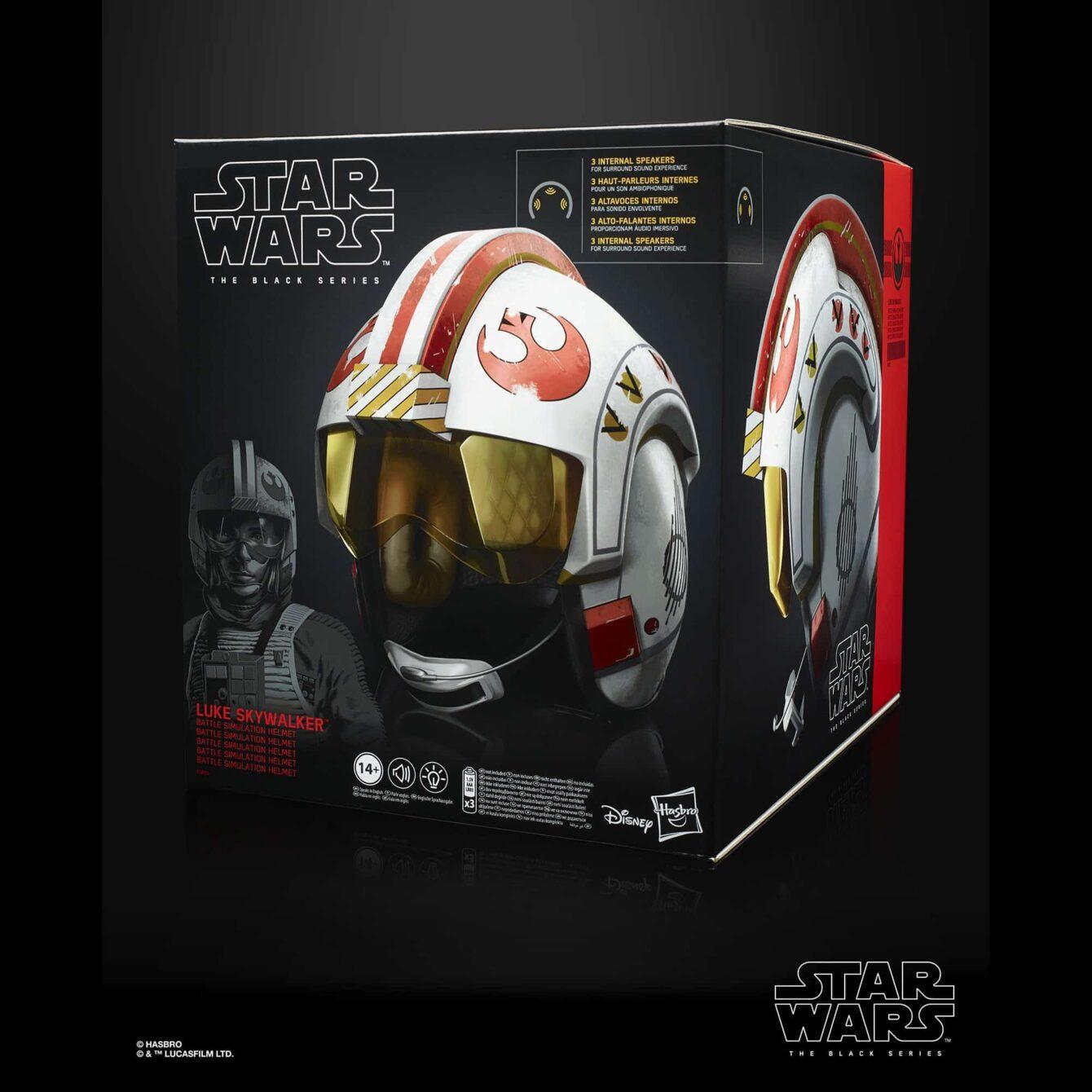 The Black Series Luke Skywalker Electronic X-Wing Pilot Helmet