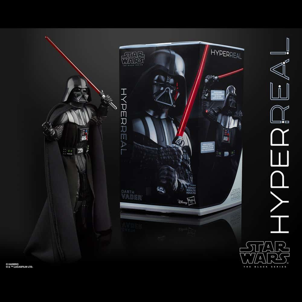 The Black Series Darth Vader Hyperreal 8-Inch Action Figure