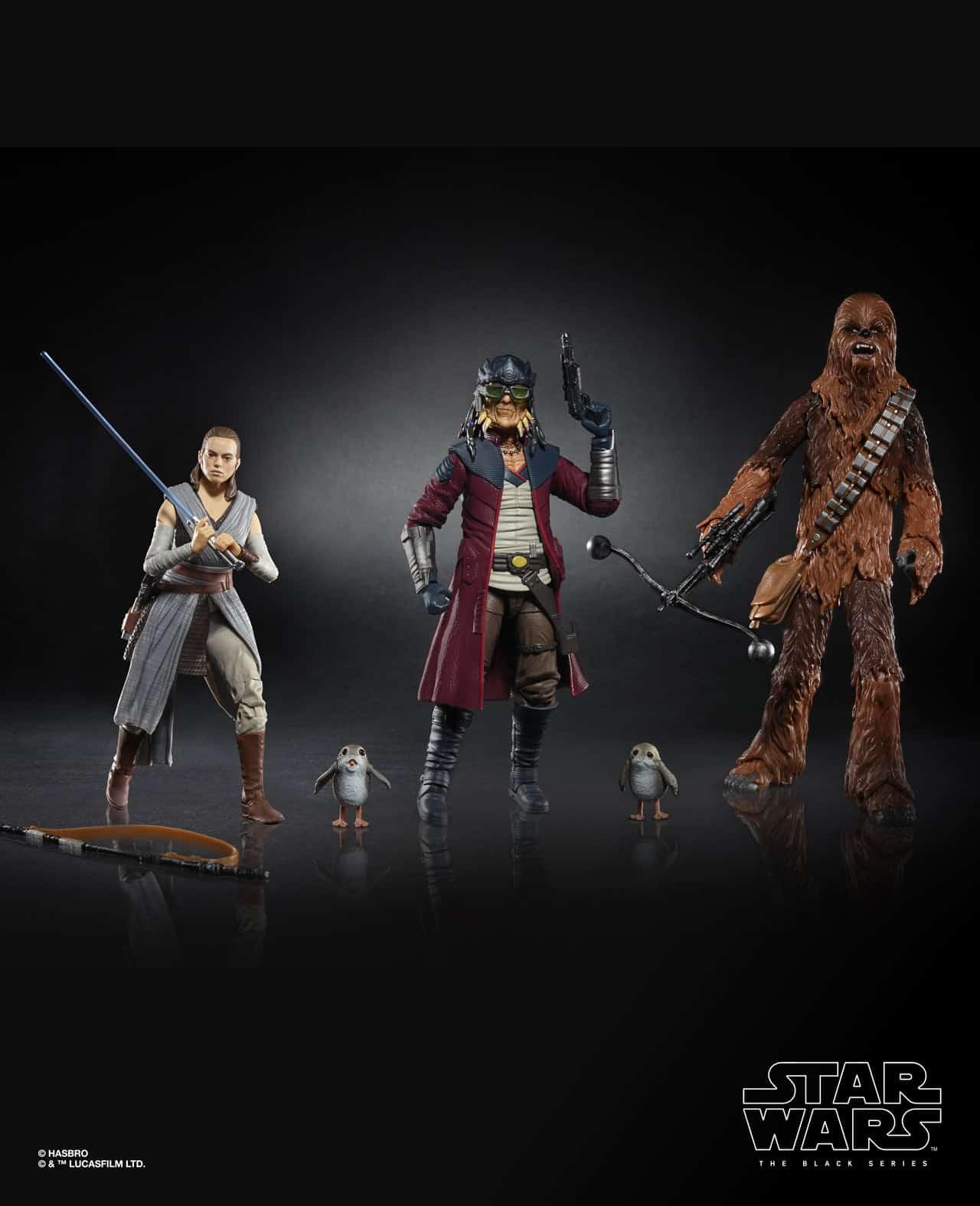 "Hasbro Disneyland Star Wars Galaxy's Edge Black Series Smugglers Run 6"" Figure 4"