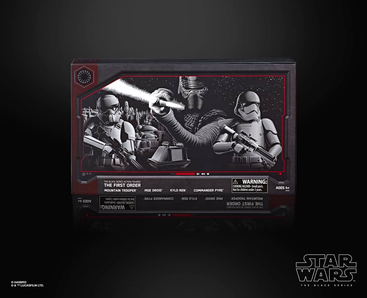 "Hasbro Disneyland Star Wars Galaxy's Edge Black Series First Order 6"" Figure 4"