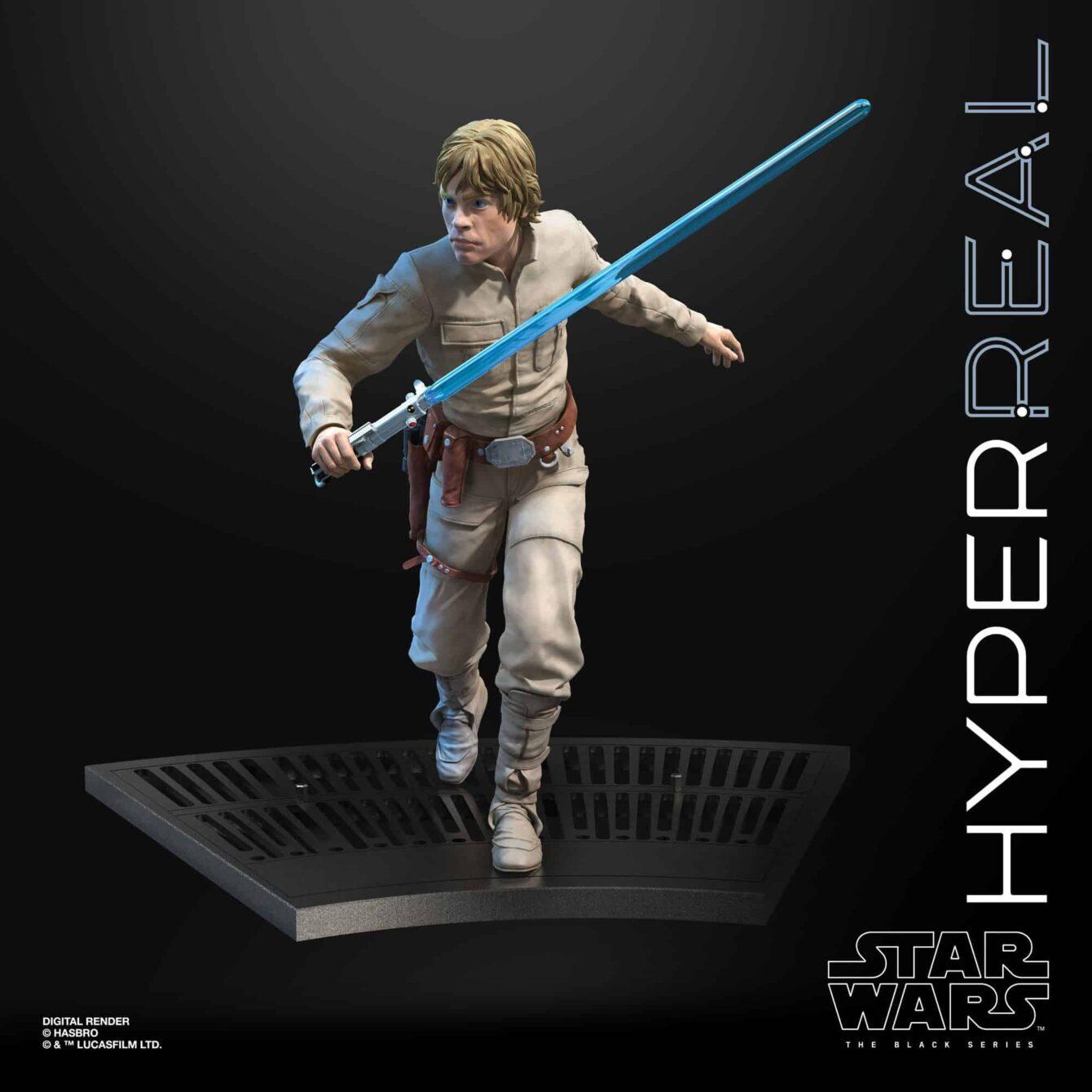 The Black Series Luke Skywalker Hyperreal 8-Inch Action Figure