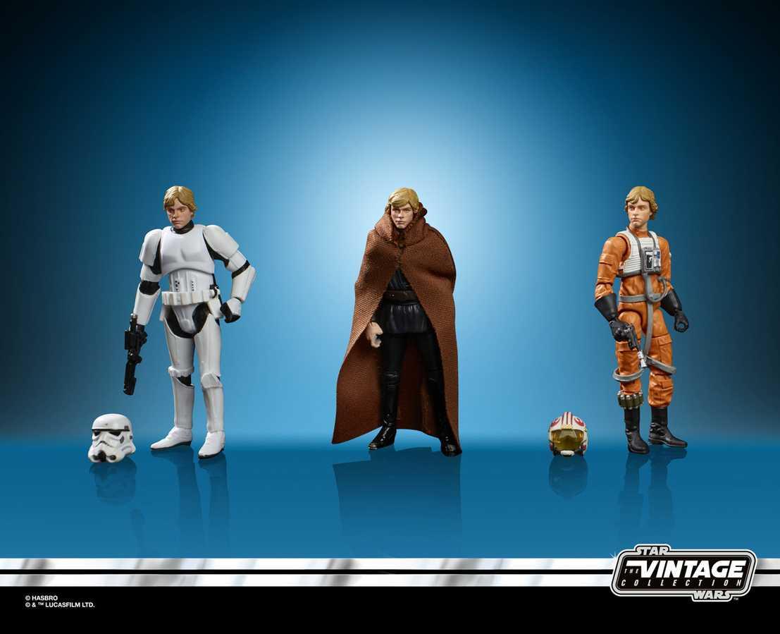 Star Wars Special Action Figure Set Vintage Luke Skywalker SDCC 2019 Exclusive