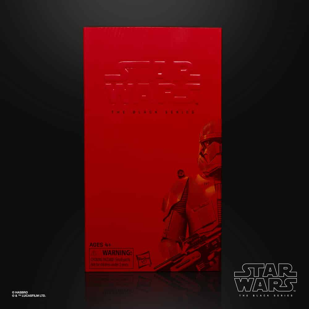 The Black Series The Rise of Skywalker Sith Trooper 6-Inch Action Figure