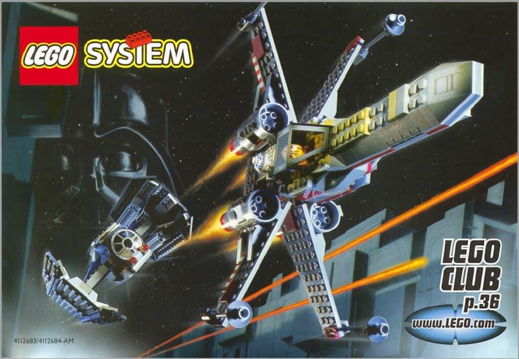 1999 Lego Star Wars catalog page