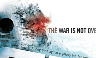 Aftermath The war is not over description of the book cover