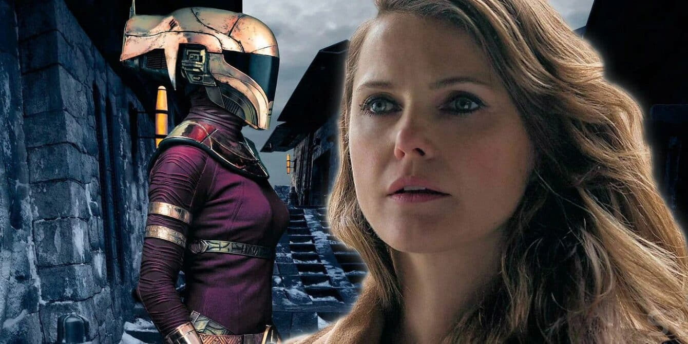 Keri Russel as Korii Blis in Star Wars The Rise of Skywalker