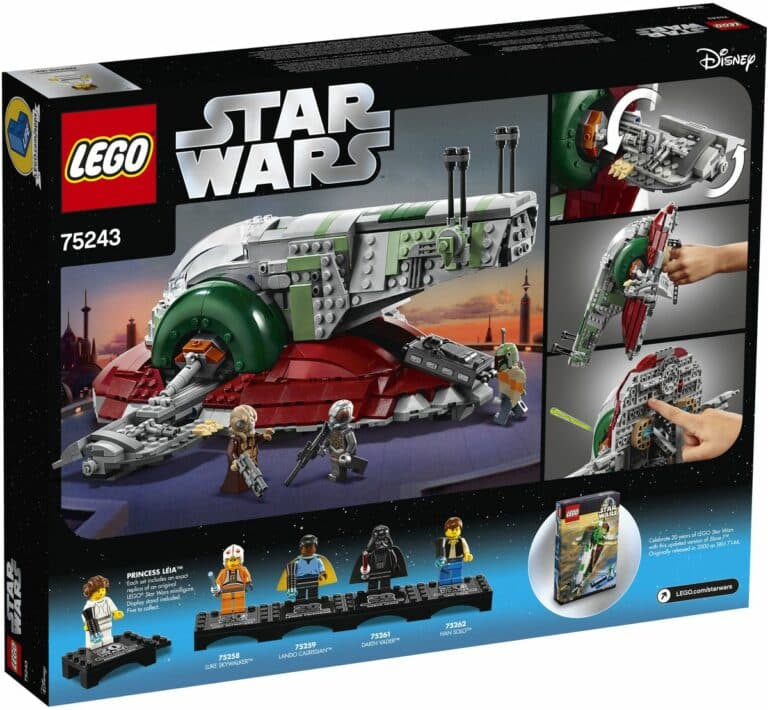 LEGO 75243 Slave I 20th anniversary box