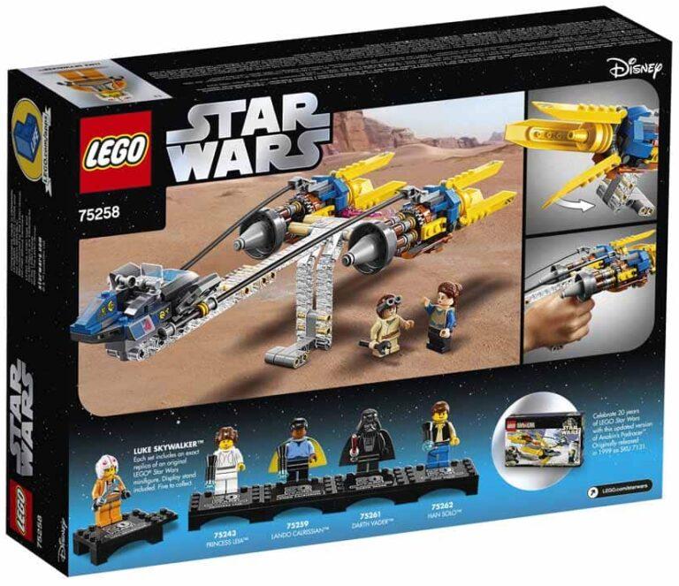 LEGO 75258 Anakin Podracer 20th anniversary box