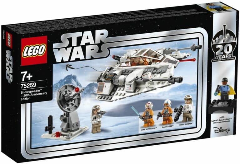 LEGO 75259 Snowspeeder 20th anniversary box