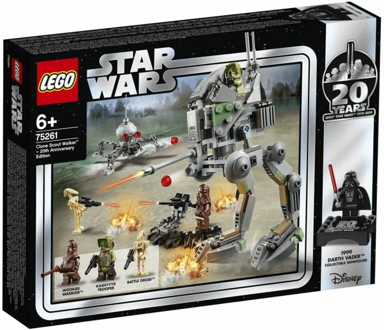 LEGO 75261 Clone Scout Walker 20th anniversary box