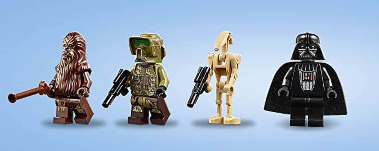 LEGO 75261 Clone Scout Walker 20th anniversary mini figures