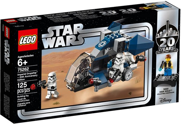 LEGO 75262 Imperial Dropship 20th anniversary box