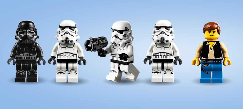 LEGO 75262 Imperial Dropship 20th anniversary mini figures