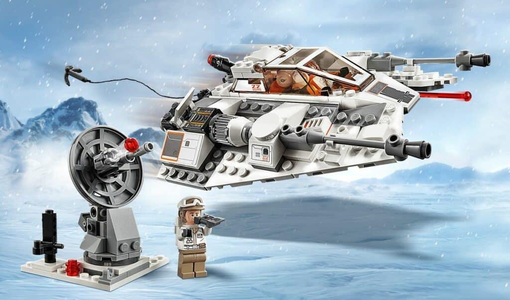 Lego Star Wars Snowspeeder - 20th Anniversary 75259 Review