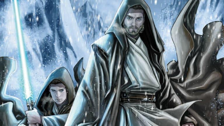Obi Wan and Anakin cover book
