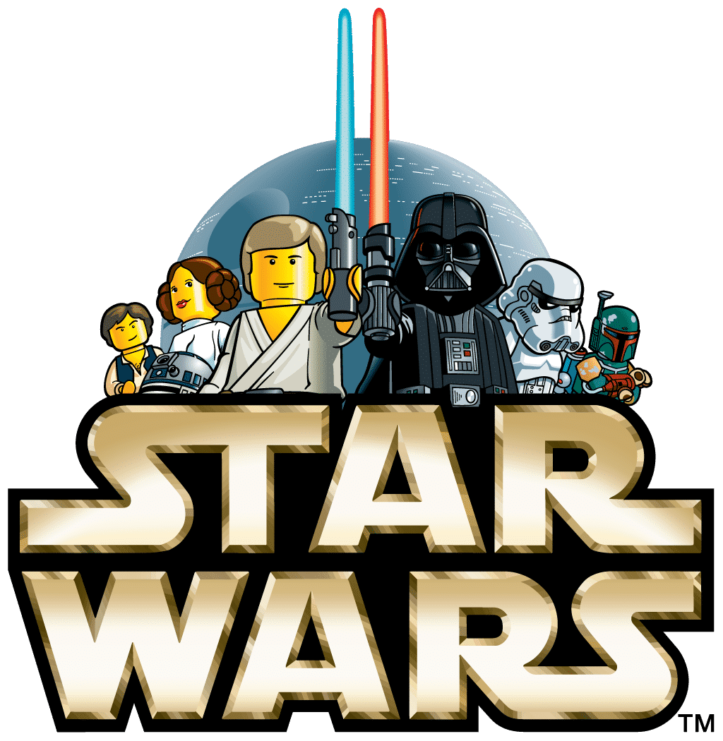 Original logo from Lego Star Wars in 1999