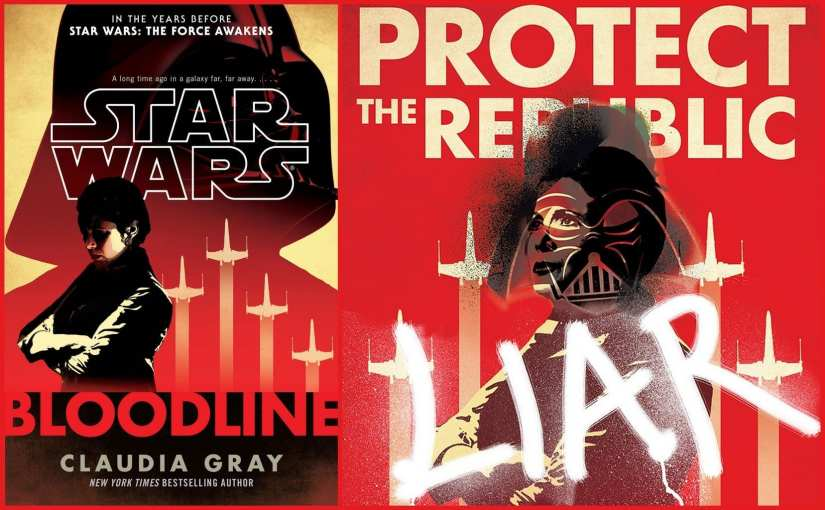 Star Wars Bloodline By Claudia Gray cover book