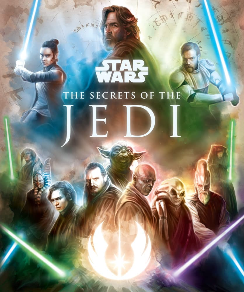 Star Wars The Secrets of The Jedi cover book