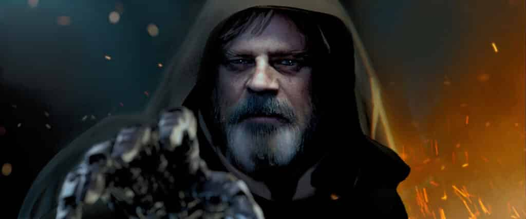 What is Luke Skywalker's quest?