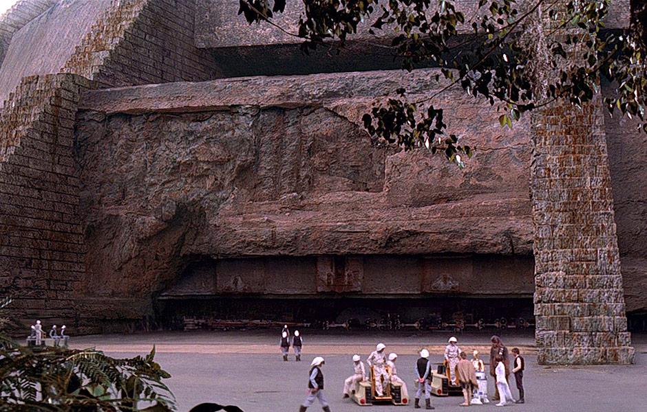Rebel base in the Planet Yavin 4
