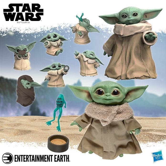 baby yoda collection from Hasbro