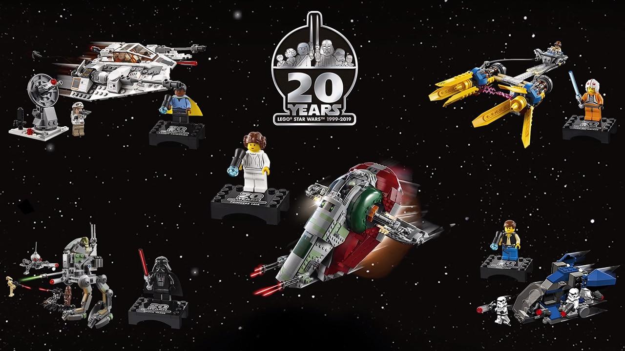 All Lego Star Wars 20th anniversary sets