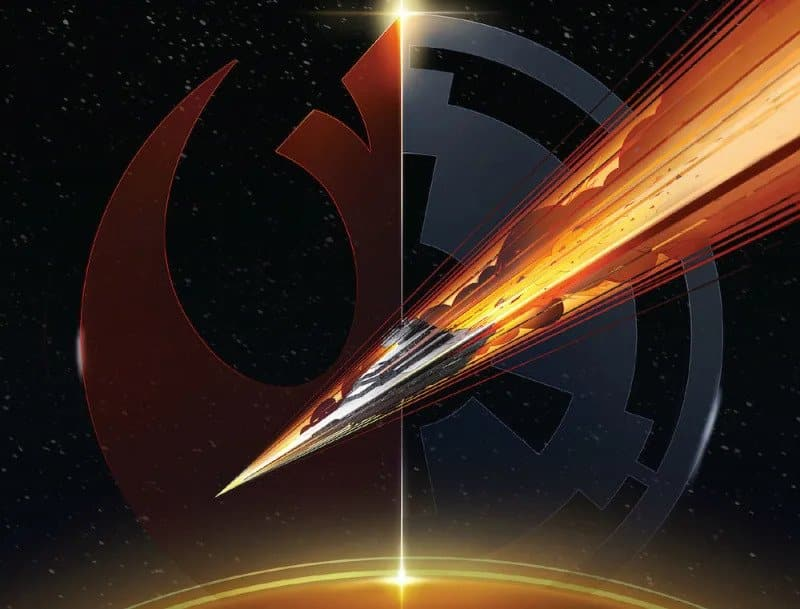 Star wars Lost Stars by Claudia Grey - a perspective of the cover book