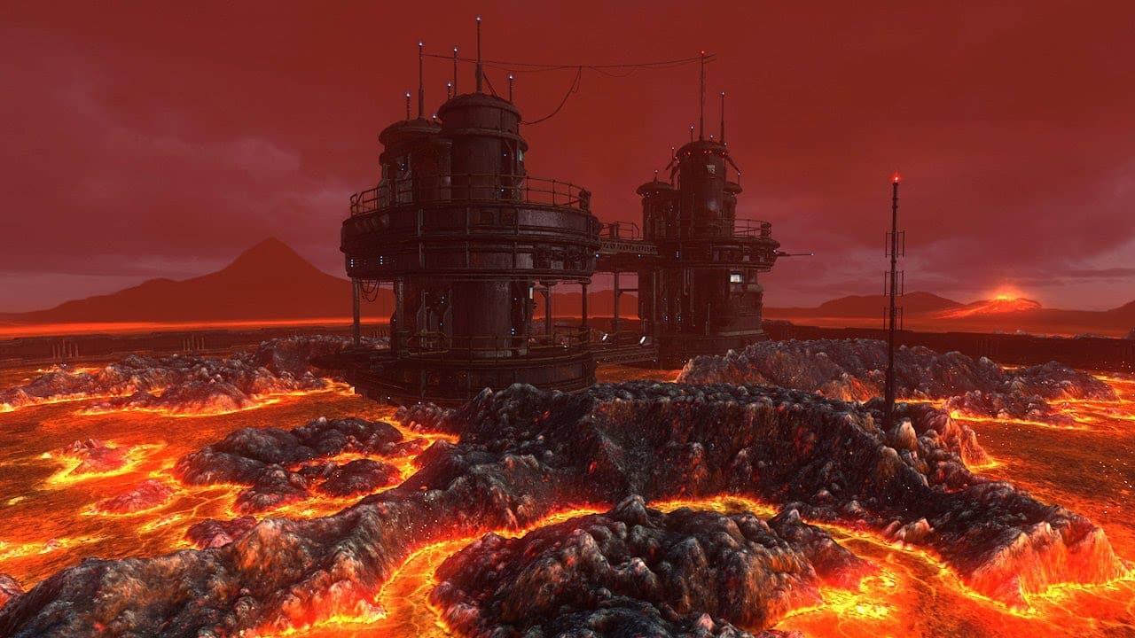 Lava Landscape from Mustafar Planet