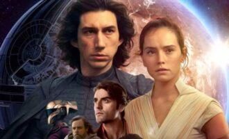 Star Wars The Rise of Skywalker poster art
