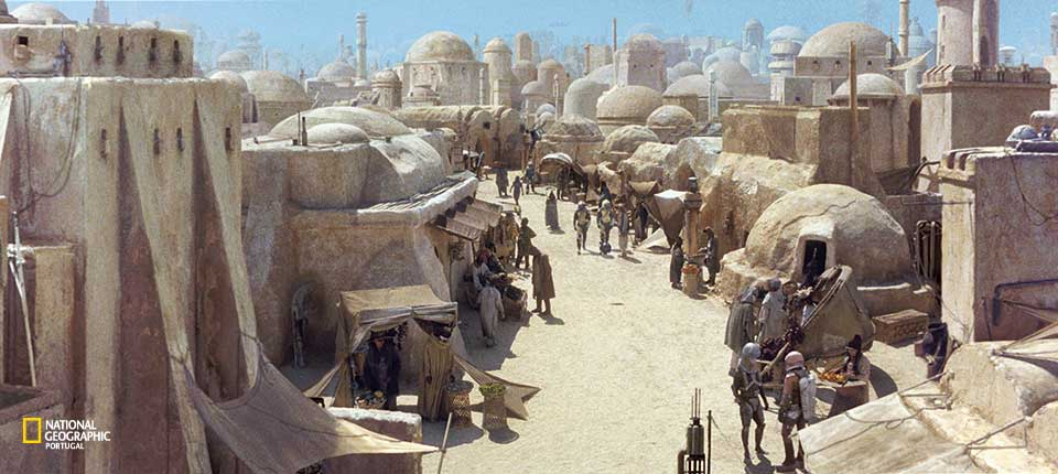landscape from Planet Tatooine