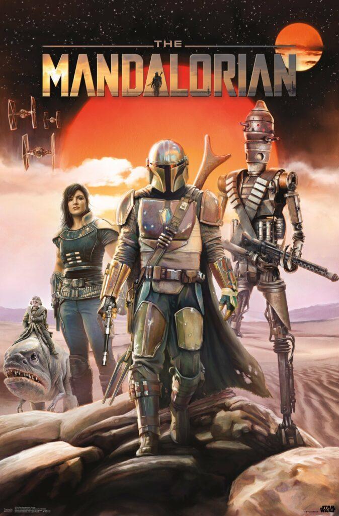 First Mandalorian Official poster