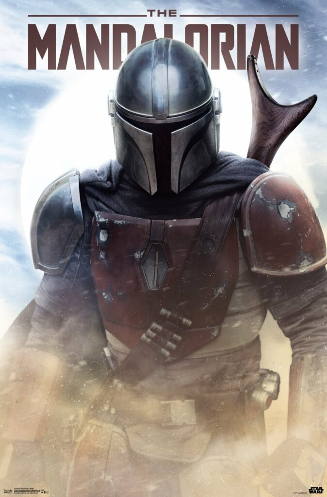 Second The Mandalorian official poster
