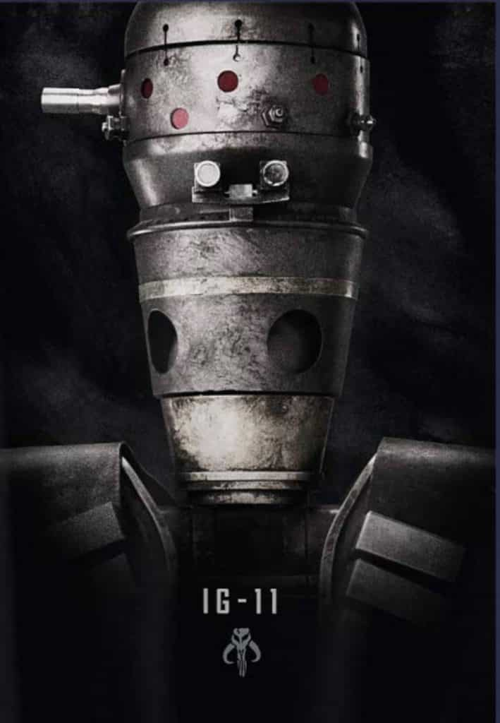 Fourth The Mandalorian official poster