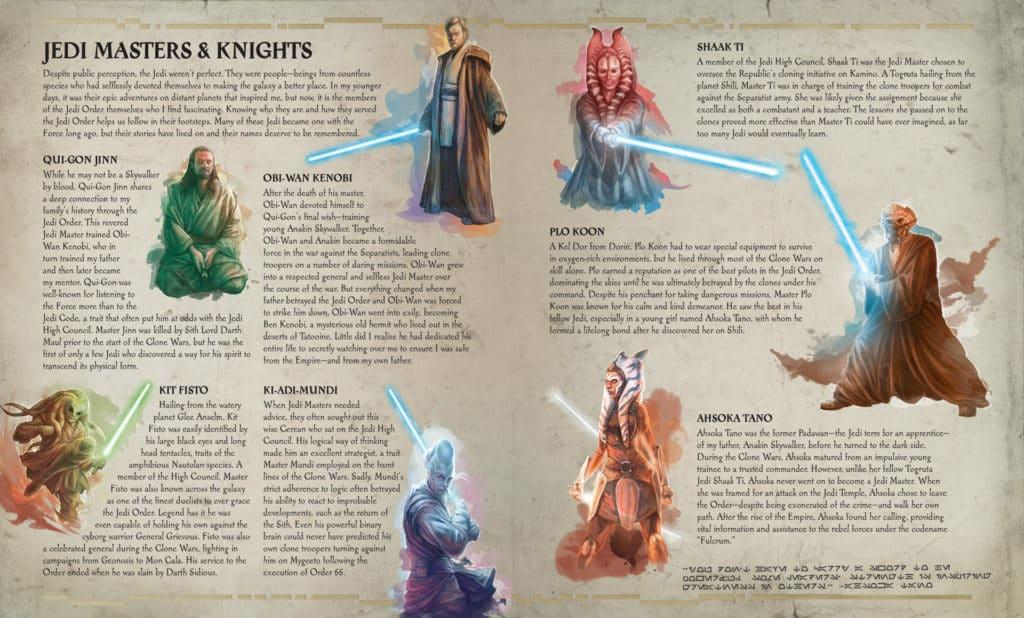 The Secrets of The Jedi Order: Jedi Knight page