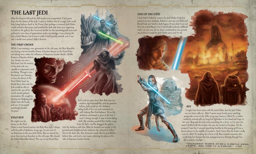 The Secrets of The Jedi Order: Last Jedi page