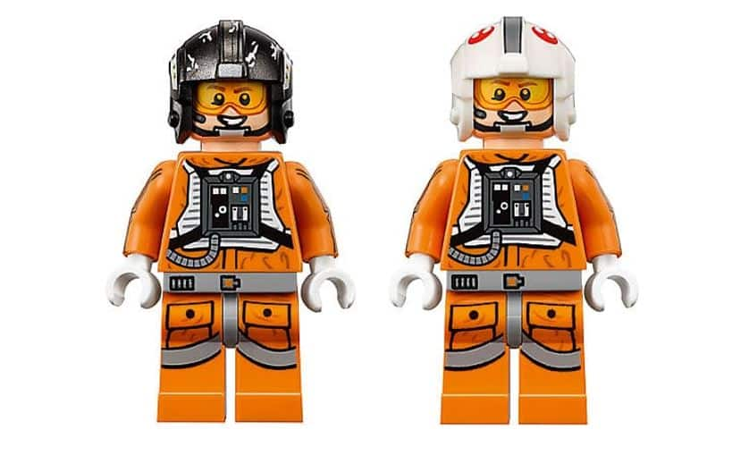 LEGO STAR WARS 75144 Snowspeeder UCS mini figures