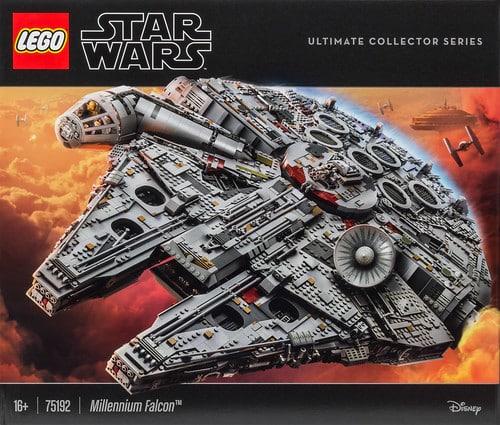LEGO Star Wars 75192 Millennium Falcon UCS box 1