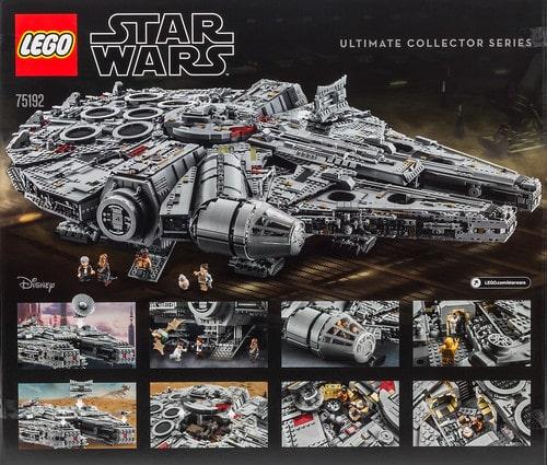 LEGO Star Wars 75192 Millennium Falcon UCS box 2