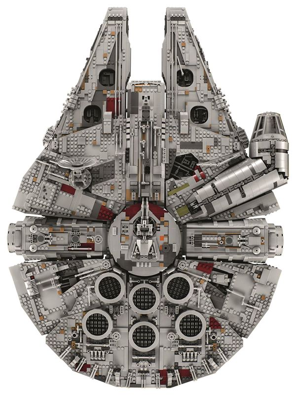 LEGO Star Wars 75192 Millennium Falcon UCS completed