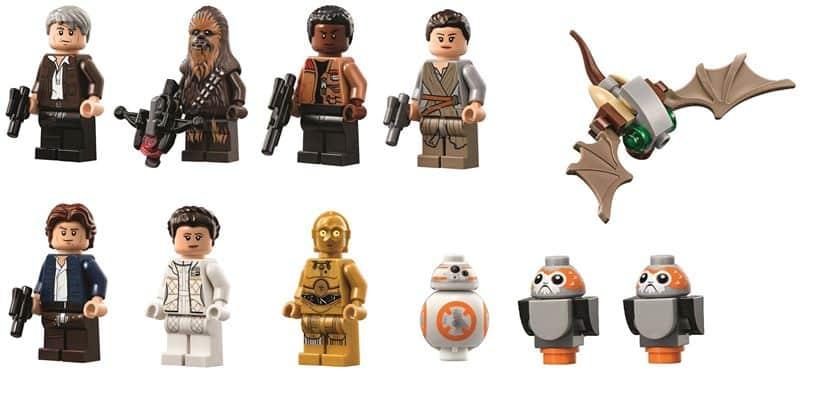 LEGO Star Wars 75192 Millennium Falcon UCS mini-figures