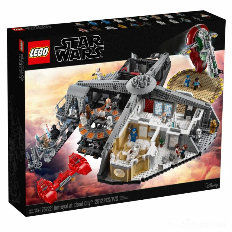 LEGO Star Wars 75222 Betrayal at Cloud City box 1