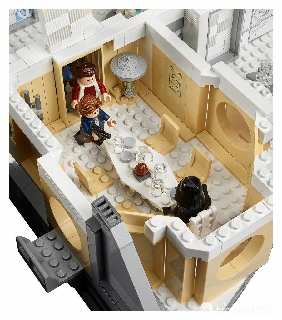 LEGO Star Wars 75222 Betrayal at Cloud City detail 4