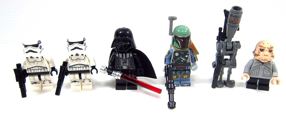 LEGO Star Wars 75222 Betrayal at Cloud City set mini-figures 3