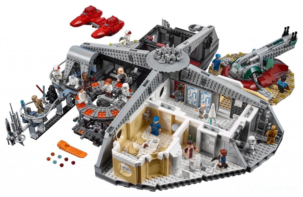 LEGO Star Wars 75222 Betrayal at Cloud City set