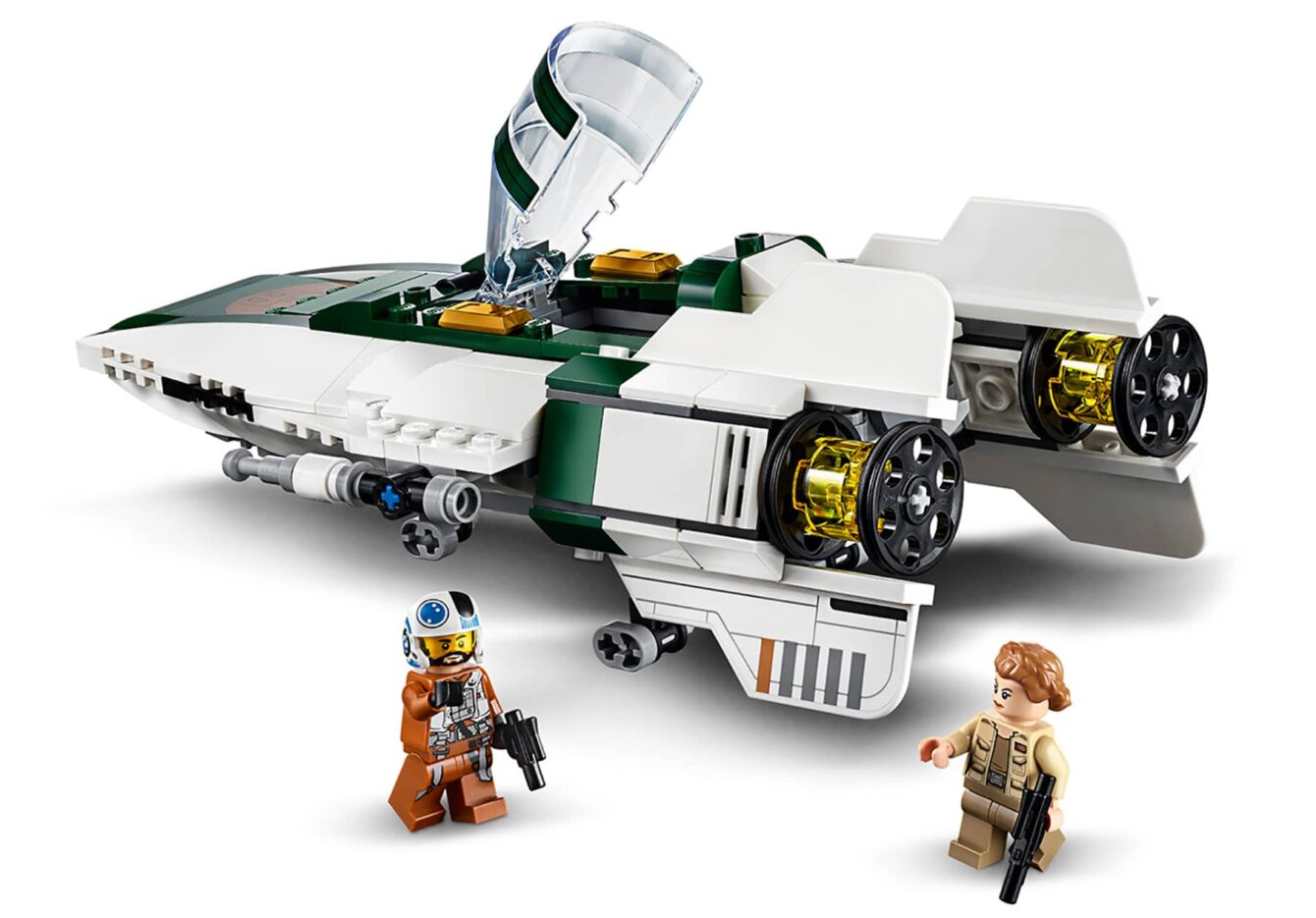 LEGO Star Wars 75248 Resistance A-Wing Starfighter 2