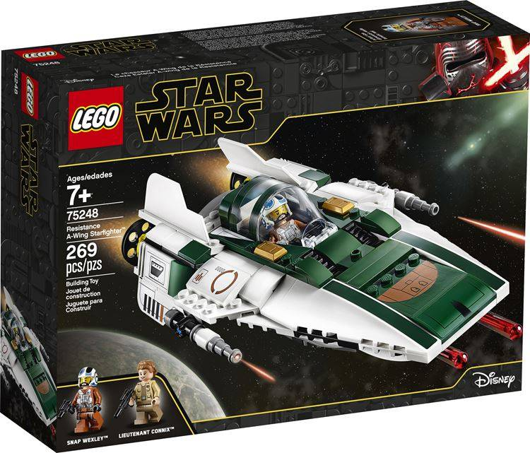 LEGO Star Wars 75248 Resistance A-Wing Starfighter Box